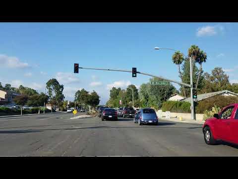 Driving Diamond Bar Blvd in Diamond Bar, California