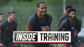 Inside Training: Liverpool meet up in Austria for first day back of pre-season