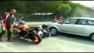Top 10 wypadków na motocyklu