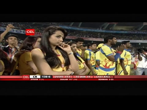 CCL4 Kerala Strikers Vs Chennai Rhinos Full Match in Kochi