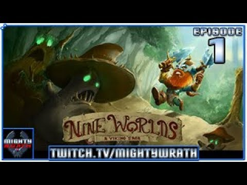Let's play Nine Worlds - A Viking Saga with MightyWrath - Episode 1