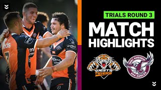 Wests Tigers v Sea Eagles Match Highlights | Pre-Season Trials Round 3 | NRL