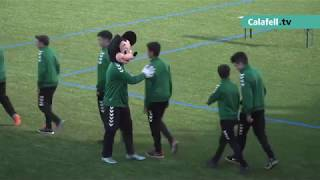 Presentació dels equips de l'Escola de Futbol Base Calafell