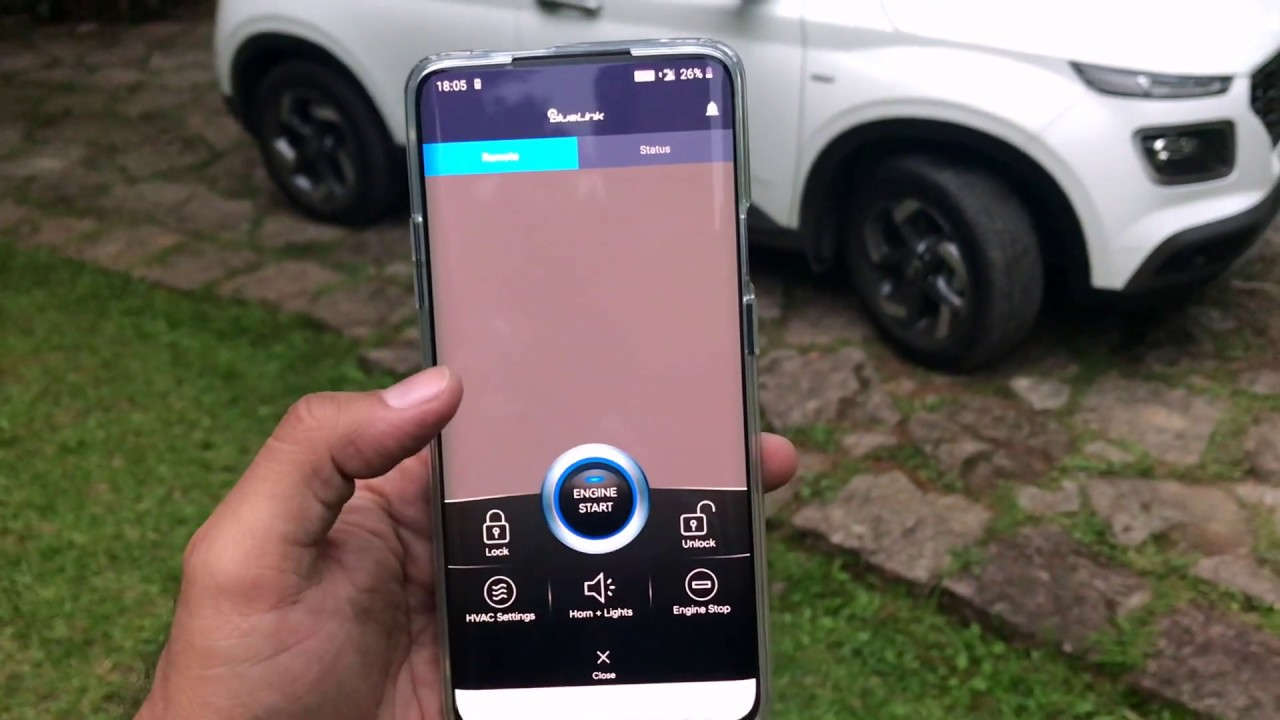 Can You Start A Car Using An App? Hyundai Venue Remote Start Demo