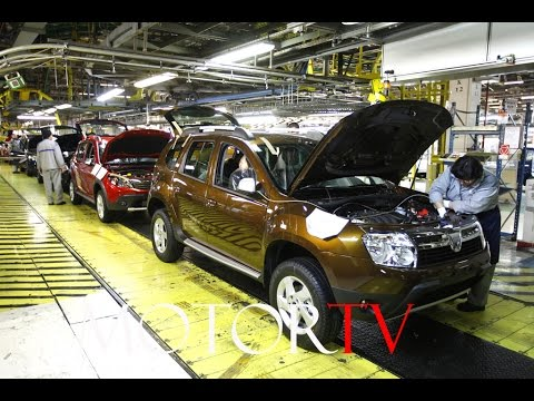 CAR FACTORY: DACIA DUSTER & DACIA SANDERO PRODUCTION