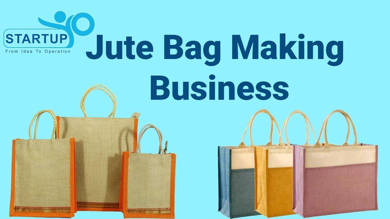Jute Bag Making Business   StartupYo   www.startupyo.com - YouTube