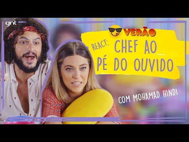 REACT e ASMR: Júlia Rabello e Mohamad Hindi comentam o Chef ao Pé do Ouvido | #110 | Fale Conosco