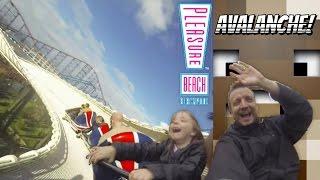 Avalanche Bobsled Coaster POV 2014 (Blackpool Pleasure Beach)