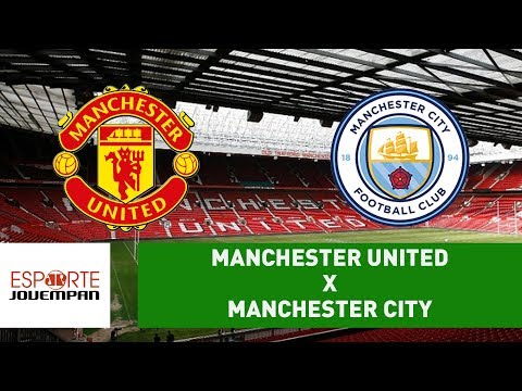 Manchester United 1 x 2 Manchester City - 10/12/17 - Campeonato Inglês
