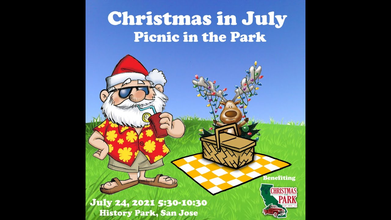 Christmas In July 2021 At Jr Christmas In July 2021 V2 360p Youtube