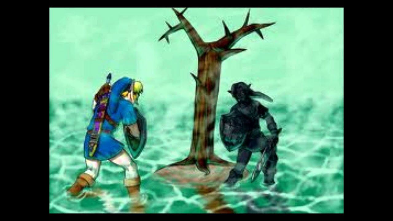 how to find dark link ocarina of time