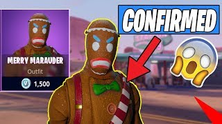 MERRY MARAUDER AND CHRISTMAS SKINS COMING BACK TO FORTNITE!