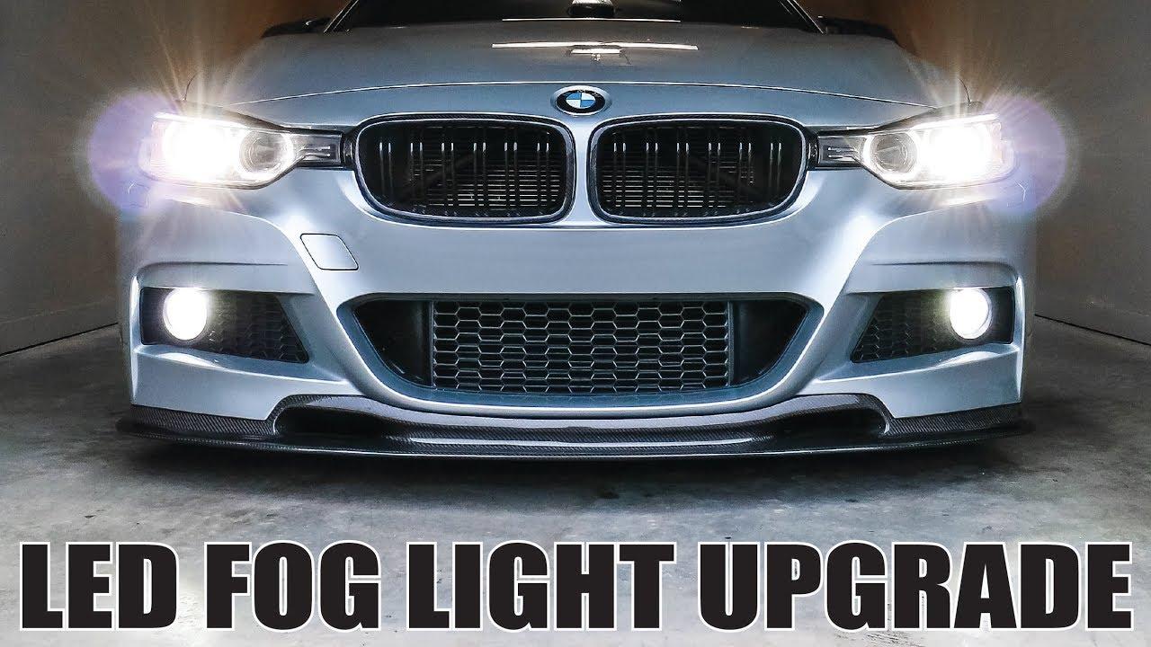 BMW F30 LED FOG LIGHT UPGRADE • INSTALLATION AND CODING