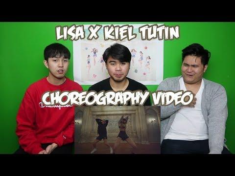 Lisa X Kiel Tutin Choreography Video Reaction Funny Fanboys Youtube