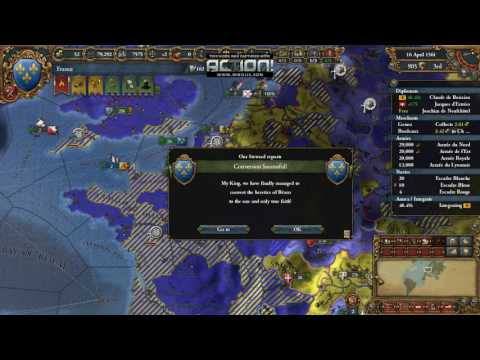 Europa Universalis IV Let's play France Episode 16 Help my Allies