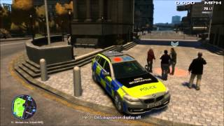 GTA IV LCPD:FR British Multiplayer Patrol 15 (Panic Button and Long Pursuit)