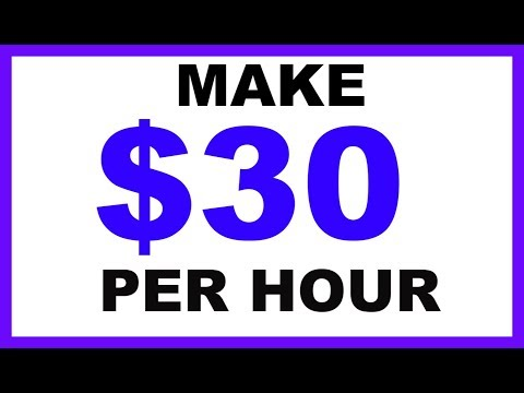 How To Make $30 Per Hour Just Watching Videos
