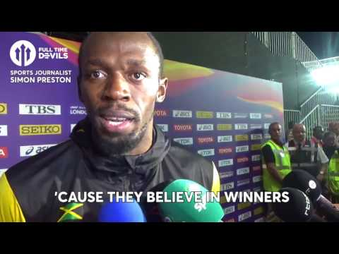 USAIN BOLT: MOURINHO, GATLIN & MANCHESTER UNITED'S LEAGUE CHANCES!
