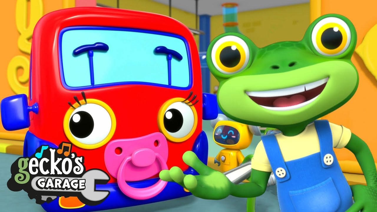 Baby Truck's First Visit | Gecko's Garage | Trucks For Children | Cartoons For Kids