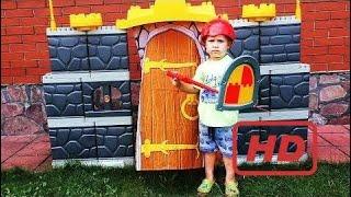 Mega Designer !!! Castle Knight Games For Boys Toys Castle Nexo Knight Entertainment Kids  # 323