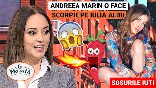 Andreea Marin o face scorpie in direct pe Iulia Albu!