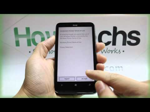 How to Master Reset HTC HD7