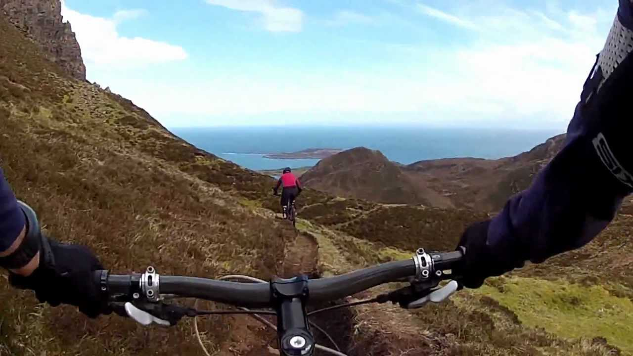 Mountain Biking Scotland Quiraing Skye One Of The Best Youtube