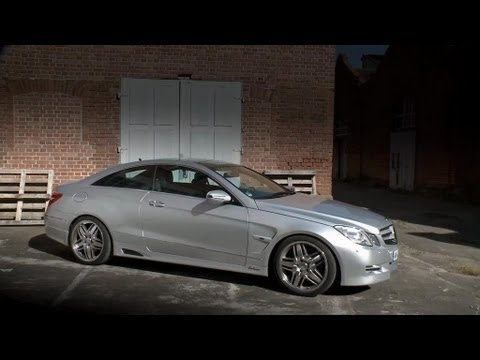 Mercedes E 500 Coupe Tuning Von Lorinser Youtube