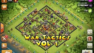 Clash Of Clans | War Tactics/ Mass Witch Attack | JediBassChoke