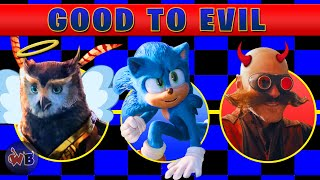 Sonic The Hedgehog Movie: Good to Evil