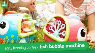 Early Learning Centre Fish Bubble Machine