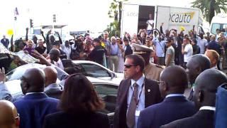 Afrique-France Nice 2010 President Wade Senegal