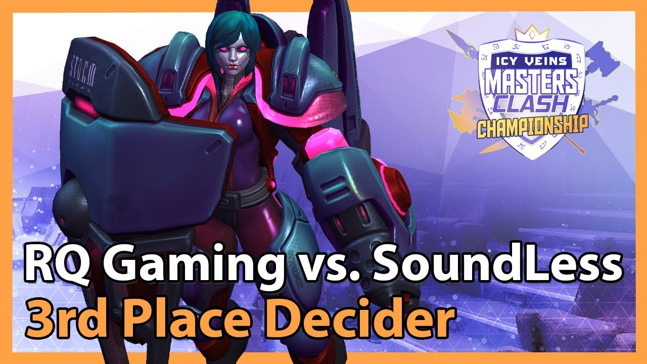 SoundLess vs. RQ Gaming - Masters Clash - Heroes of the Storm
