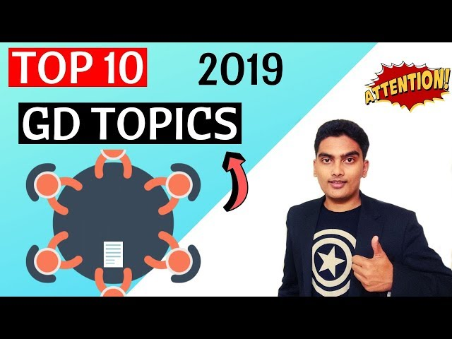 Top 10 GD Topics 2019 with Answers
