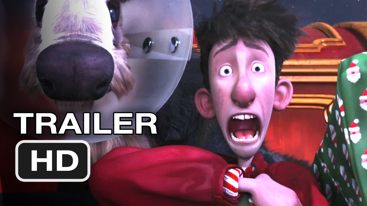 Arthur Christmas Official Trailer 3 Santa Claus Movie 2011 Hd Youtube