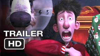 Arthur Christmas Official Trailer #3 - Santa Claus Movie (2011) HD