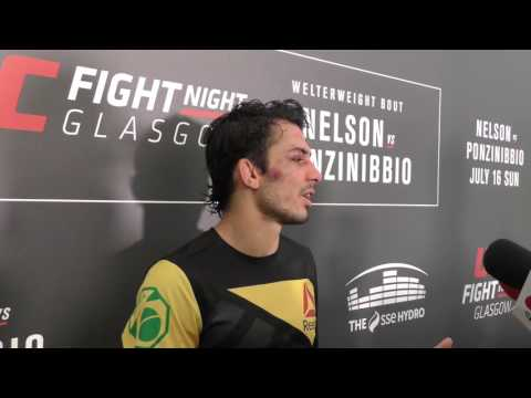 Alexandre Pantoja UFC Glasgow Post-Fight Interview