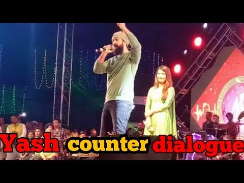 Yash counter dialogue in vijayapura program