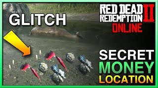 Red Dead Redemption 2 Online Money - NEW SECRET MONEY LOCATION Red Dead Online - RDR2 Online Money