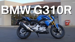 NEW 2018 BMW G310R TEST RIDE & REVIEW (US VERSION)
