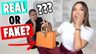 FAKE vs REAL Designer Bags - Can YOU Spot The Fakes? | Mar
