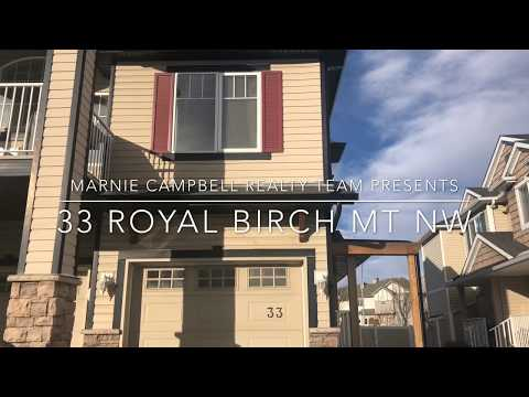 2-bedroom END UNIT Townhome With LOW Condo Fees In Calgary, Alberta For Sale.