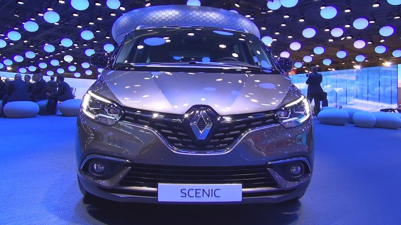 renault grand scenic intens 7p energy dci 160 2017 exterior and interior in 3d youtube. Black Bedroom Furniture Sets. Home Design Ideas