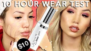 BUY OR PASS? | COLOURPOP NO FILTER STIX FOUNDATION | WEAR TEST REVIEW