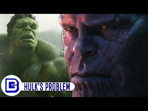 Why Is HULK Afraid Of THANOS In Infinity War   Explained In Hindi   BlueIceBear