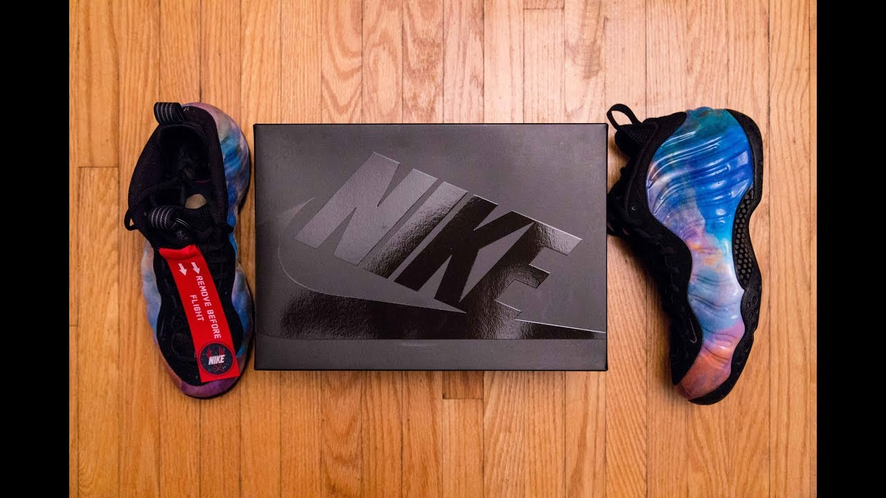 Someone traded a CAR for these?! || Nike Air Foamposite One 'Alternate  Galaxy/Big Bang' Review