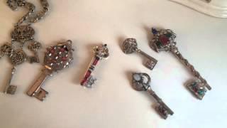 Винтажные украшения -ключи. Ключ-символ власти, знаний,