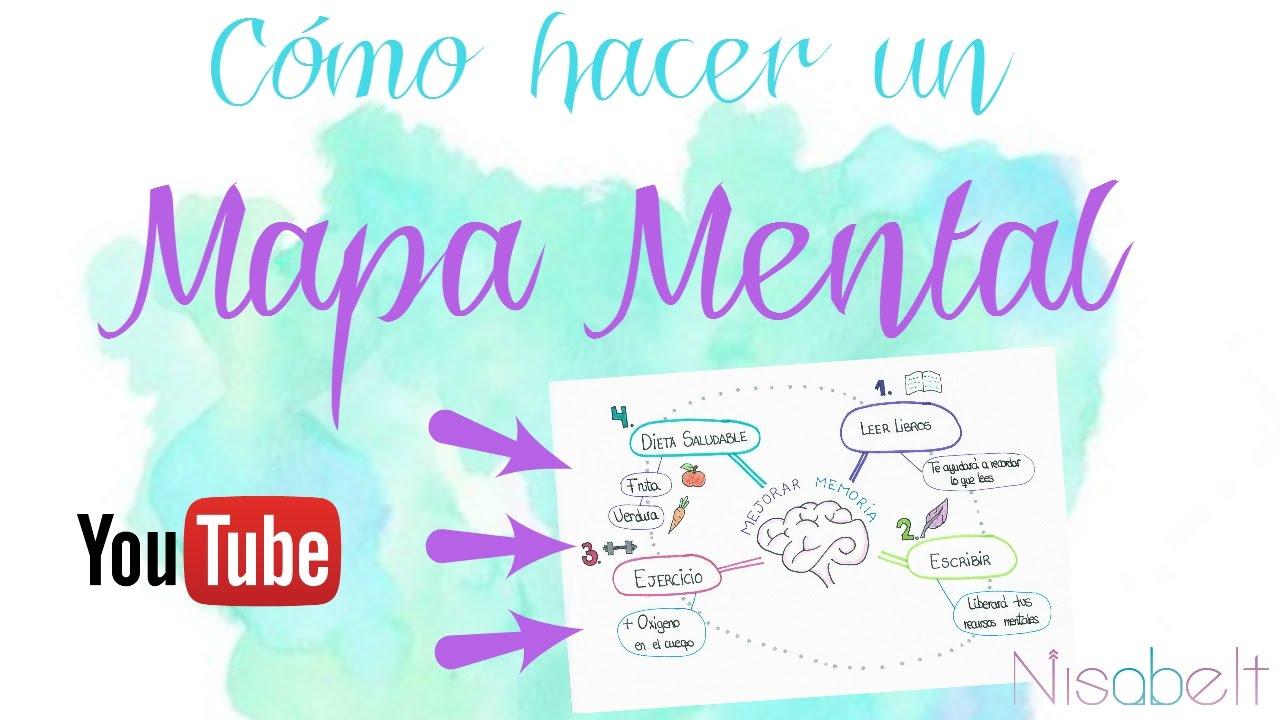 Como Hacer Un Mapa Mental Tecnicas De Estudio Nisabelt Youtube