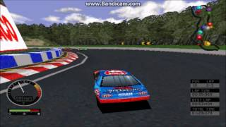 NASCAR Road Racing PC Gameplay John Andretti Vallejo Speedway 3 Laps