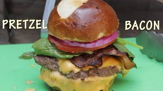 Wendy's Pretzel Bacon Cheeseburger - Fast Food Clone Recipe